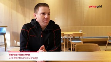 Interview mit Patrick Hubschmid, Grid Maintenance Manager bei Swissgrid