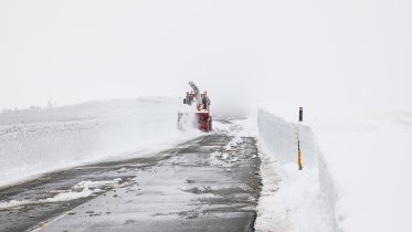 Snow clearance by the Graubünden civil engineering office